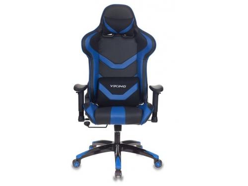 Компьютерное кресло Бюрократ CH-772N/BL+BLUE две подушки черный/синий искусственная кожа (пластик черный), вид 2