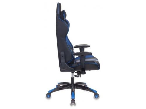 Компьютерное кресло Бюрократ CH-772N/BL+BLUE две подушки черный/синий искусственная кожа (пластик черный), вид 3