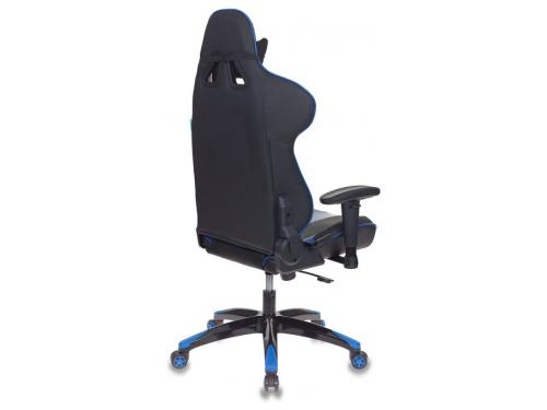 Компьютерное кресло Бюрократ CH-772N/BL+BLUE две подушки черный/синий искусственная кожа (пластик черный), вид 4