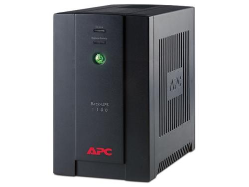 Источник бесперебойного питания APC Back-UPS 1100VA with AVR, Schuko Outlets for Russia, 230V, вид 1