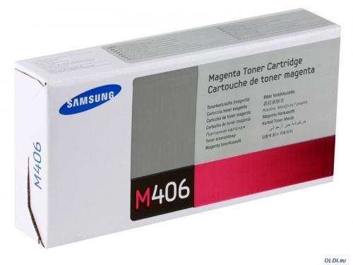Картридж Samsung CLT-M406S, вид 1