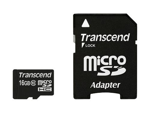 Карта памяти Transcend TS16GUSDHC10, вид 1