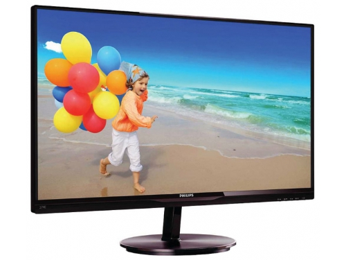 Монитор Philips 274E5QSB Black-Cherry, вид 3
