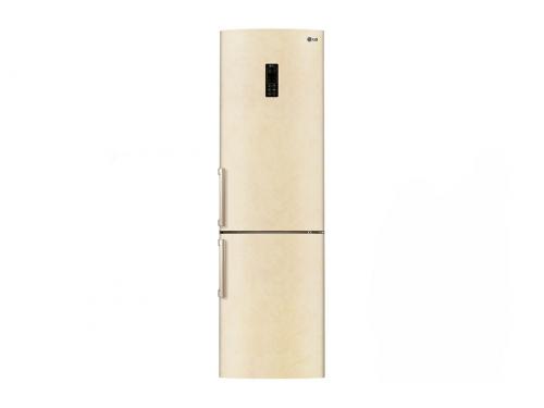 Холодильник LG GA-B489YECZ бежевый, вид 1