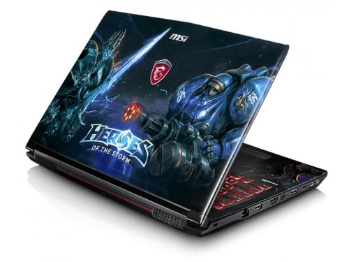 Ноутбук MSI GE62 6QD Apache Pro Heroes , вид 4