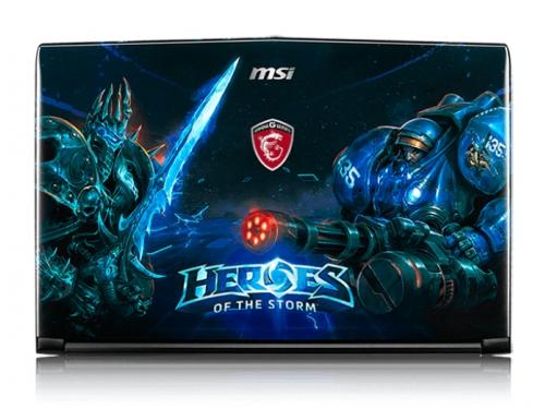 Ноутбук MSI GE62 6QD Apache Pro Heroes , вид 5
