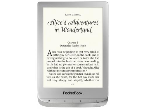 Электронная книга PocketBook 627 Серебро, вид 2