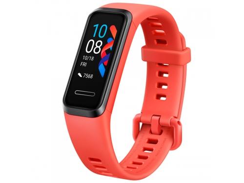 Фитнес-браслет Huawei Band 4 (ADS-B29), коралловый, вид 1