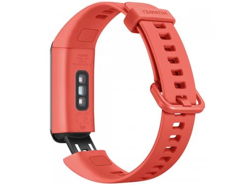 Фитнес-браслет Huawei Band 4 (ADS-B29), коралловый, вид 2