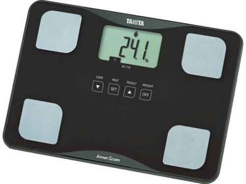 Напольные весы Tanita BC-718, коричневые, вид 1