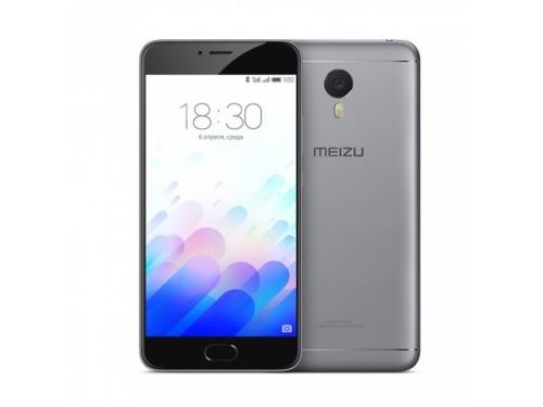 Смартфон Meizu M3 Note 32Gb, серо-черный, вид 1