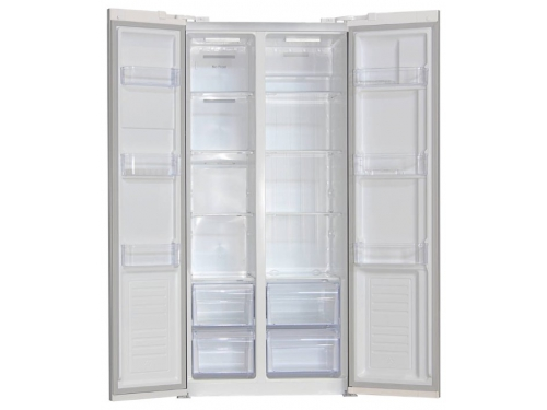Холодильник Ginzzu NFK-465 436 л белый, вид 2