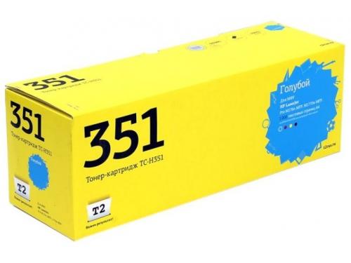 Картридж для принтера T2 TC-H351 голубой, вид 1