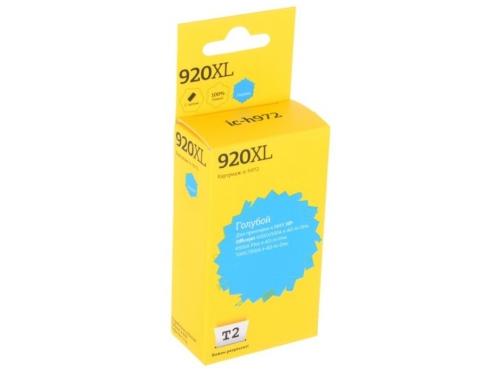Картридж для принтера T2 IC-H972 голубой, вид 1
