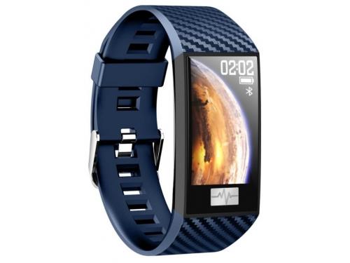 Фитнес-браслет Smarterra Fitmaster Pulsar IPS, синий/синий, вид 2