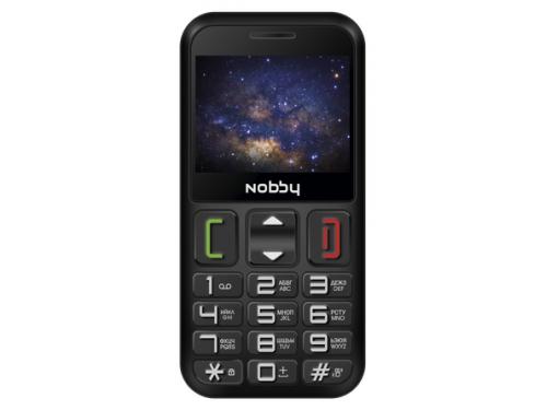 Сотовый телефон Nobby 240B черный, вид 1