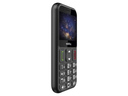 Сотовый телефон Nobby 240B черный, вид 2