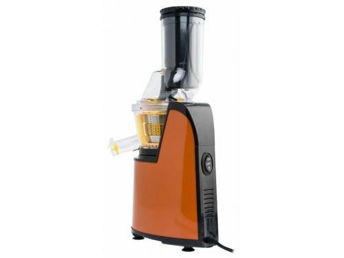 Соковыжималка Kitfort KT-1102, оранжевая, вид 3