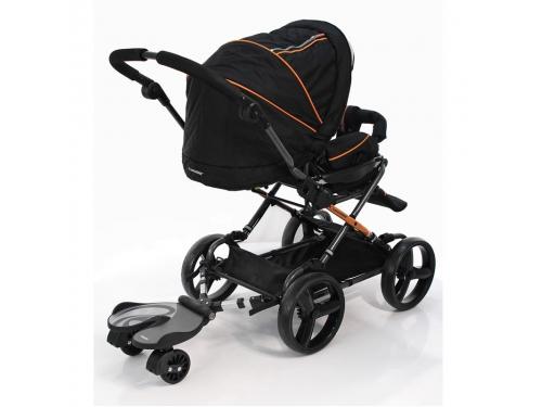 Аксессуар к коляске Bumprider Crescent 12176 Подножка для второго ребенка, синяя, вид 2