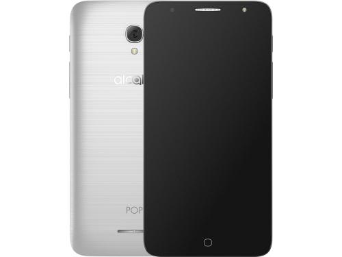 Смартфон Alcatel Pop 4 5056D Metal Silver, вид 1