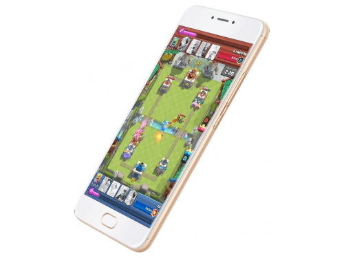 Смартфон Meizu M3 Note 16Gb, золотистый/белый, вид 1