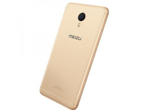 Смартфон Meizu M3 Note 16Gb, золотистый/белый, вид 2