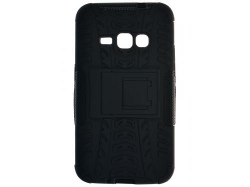 Чехол для смартфона SkinBOX Defender case для Samsung Galaxy J1 (2016), черный, вид 1