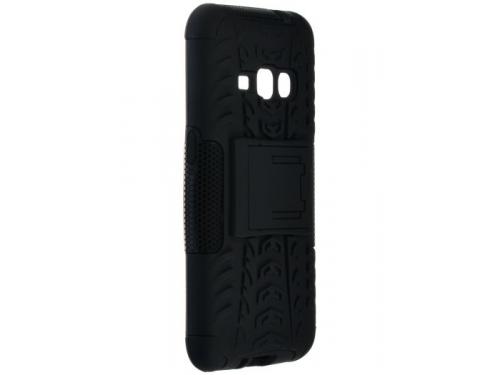 Чехол для смартфона SkinBOX Defender case для Samsung Galaxy J1 (2016), черный, вид 3