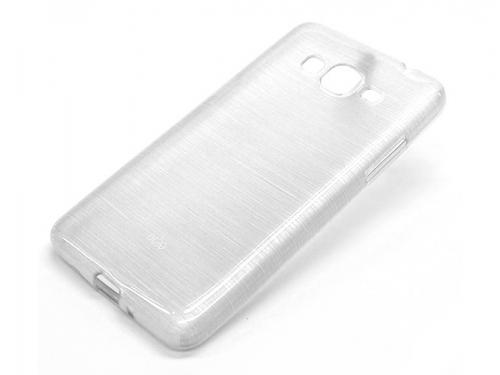 Чехол для смартфона Samsung Galaxy Grand Prime/G530, белый матовый, вид 1