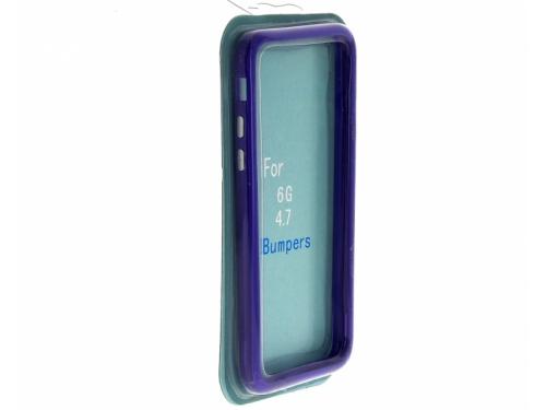 Чехол iphone бампер для Apple iPhone 6/6s, синий, вид 1