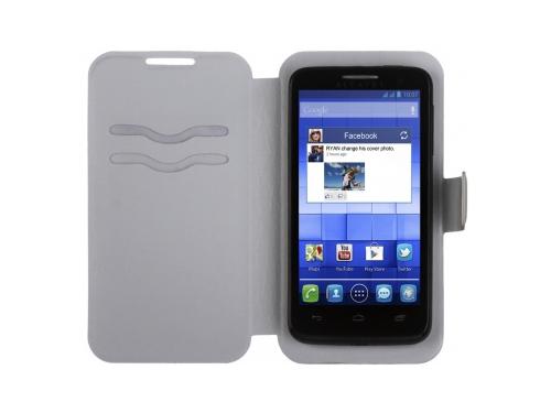 Чехол для смартфона iBox Universal 180/95 белый, вид 1