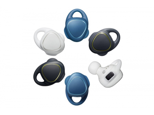 Гарнитура bluetooth Samsung Gear IconX SM-R150N BT4.1 (вкладыши для правого и левого уха), синяя, вид 3