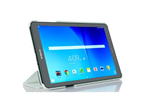 Чехол для планшета G-Case Slim Premium для Samsung Galaxy Tab Е 9.6, белый, вид 2