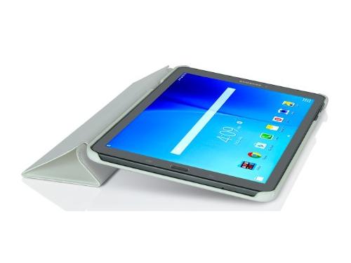 Чехол для планшета G-Case Slim Premium для Samsung Galaxy Tab Е 9.6, белый, вид 4