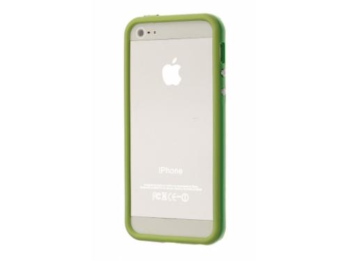 Чехол для смартфона Чехол-бампер для Apple iPhone 5/5s/SE, зеленый, вид 1