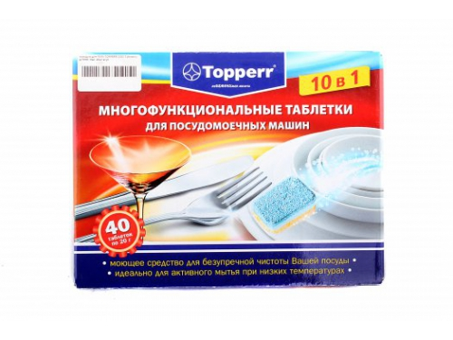 Средство для мытья посуды Topper 3303 (таблетки), вид 1