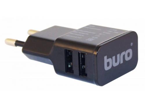 Зарядное устройство Buro TJ-160B, универсальное, черное, вид 1