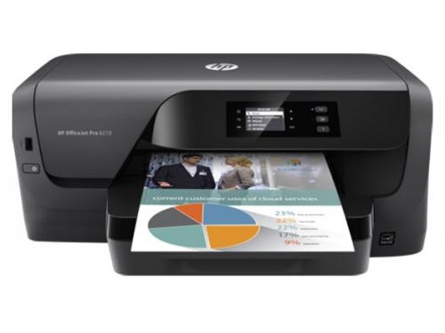 Принтер струйный цветной HP OfficeJet Pro_8210, вид 1