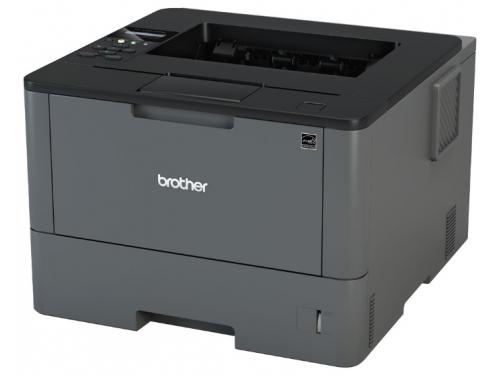 Принтер лазерный ч/б Brother HL L5200DW, вид 1