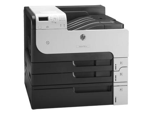 Лазерный ч/б принтер HP LaserJet Enterprise M712xh, вид 1