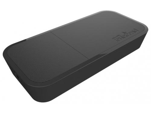 Роутер WiFi Mikrotik wAP ac (RBwAPG-5HacT2HnD-BE), Черный, вид 1