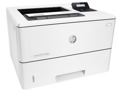 Лазерный ч/б принтер HP LaserJet Pro_M501dn, вид 3