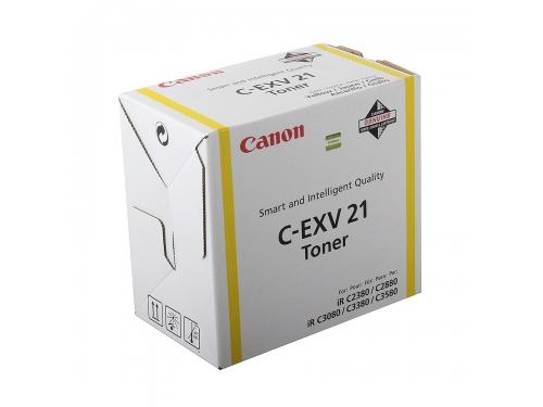 Картридж Canon Тонер-картридж C-EXV 21, Жёлтый, вид 1