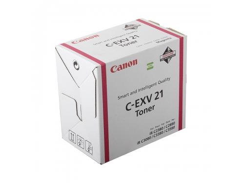 Картридж Canon Тонер-картридж C-EXV 21, Пурпурный, вид 1