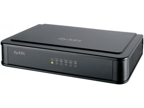 Коммутатор (switch) ZyXEL ES-105E (неуправляемый), вид 1