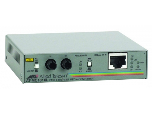 Медиаконвертер сетевой Allied Telesis AT-MC101XL, вид 1