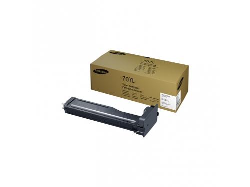 Картридж Samsung MLT-D707L, Чёрный, вид 1