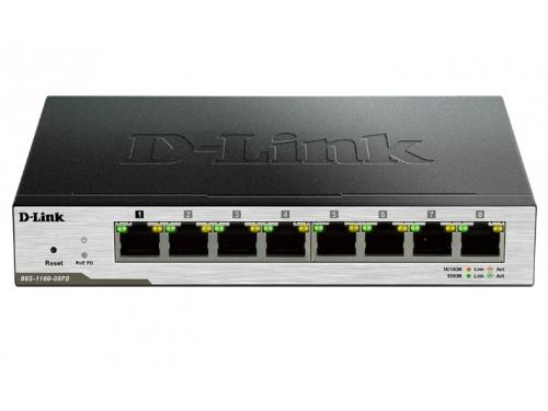 Коммутатор (switch) D-Link DGS-1100-08PD (управляемый), вид 1