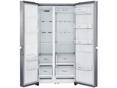 Холодильник LG GC-B247SMUV, серебристый, вид 2