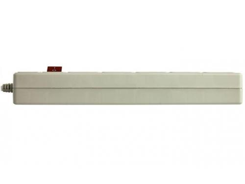Сетевой фильтр SVEN Optima Base, 5 розеток, 3 м, серый, вид 4